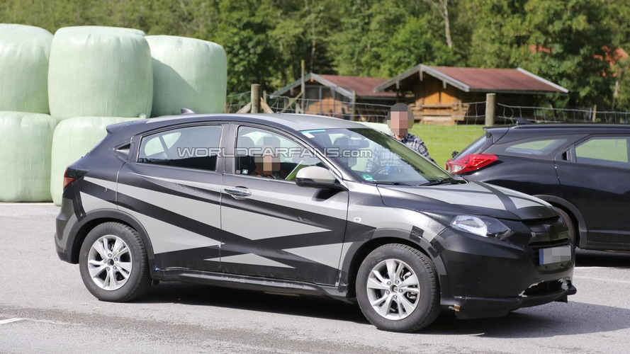Euro-spec Honda HR-V spied for the first time