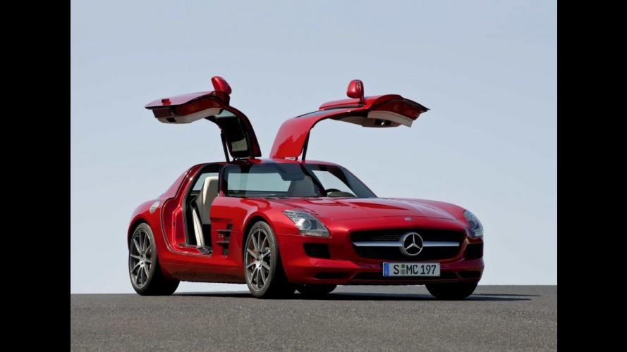 Mercedes-Benz confirma edição especial Black Series para o esportivo SLS