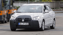 2018 Opel Corsa Sedan spy photos
