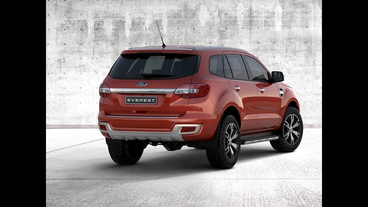 SUV da Ranger, Ford Everest 2015 é revelado - veja fotos