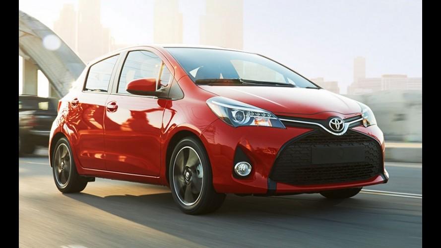O Etios deles: Yaris 2015 ganha facelift e custa a partir de R$ 33 mil nos EUA