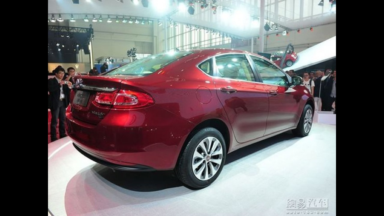 Fiat Viaggio é lançado oficialmente no Salão de Pequim: Veja as fotos