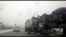 VÍDEO: Uma cegonheira fora de controle!