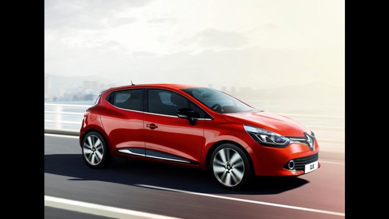Novo Renault Clio 2013 aparece em primeira imagem oficial antes do lançamento