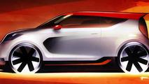 Kia Track-ster Concept teaser image