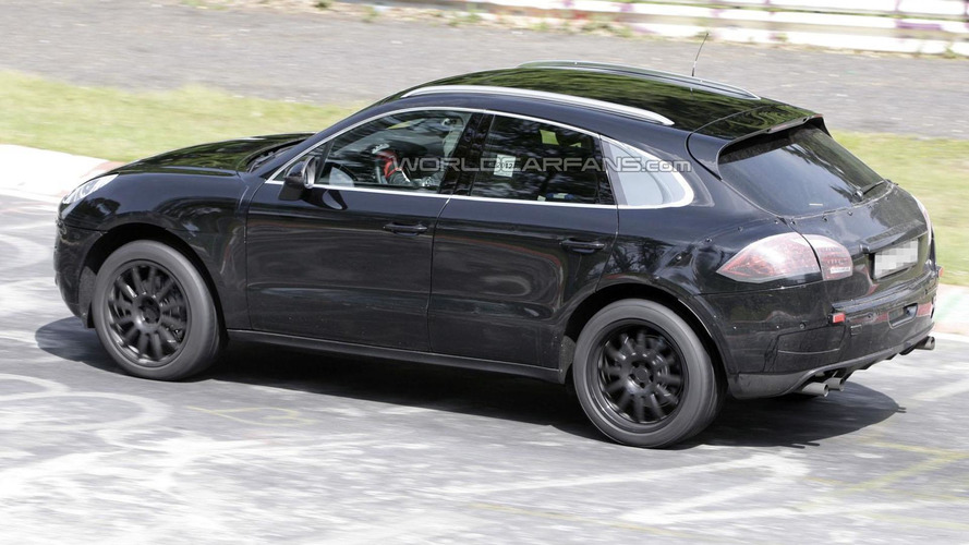 2014 Porsche Macan hits the Nurburgring