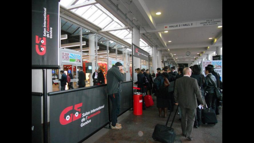 Salone di Ginevra 2012, siamo dentro!