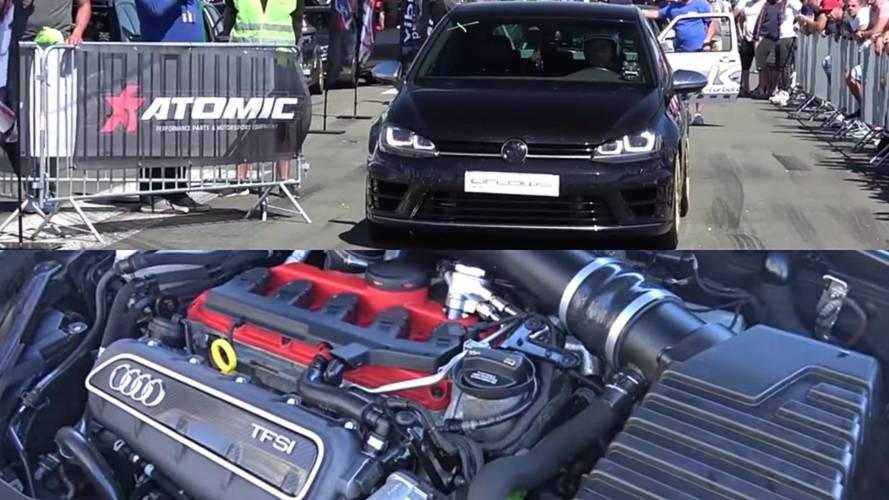 ¿Un Vokswagen Golf R con motor de Audi RS 3? Sí, y con 600 CV