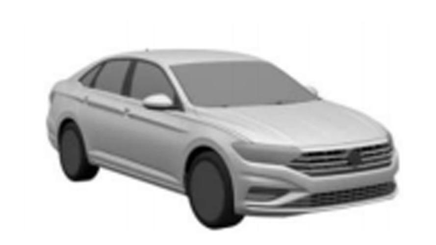 Volkswagen Jetta - Registro no INPI