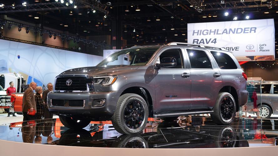 2018 Toyota Sequoia Tundra TRD Sport Models Toughen Up
