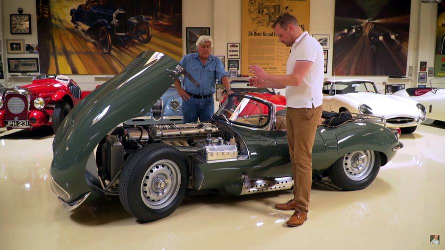 Jaguar XKSS souds like Pavarotti, says Jay Leno