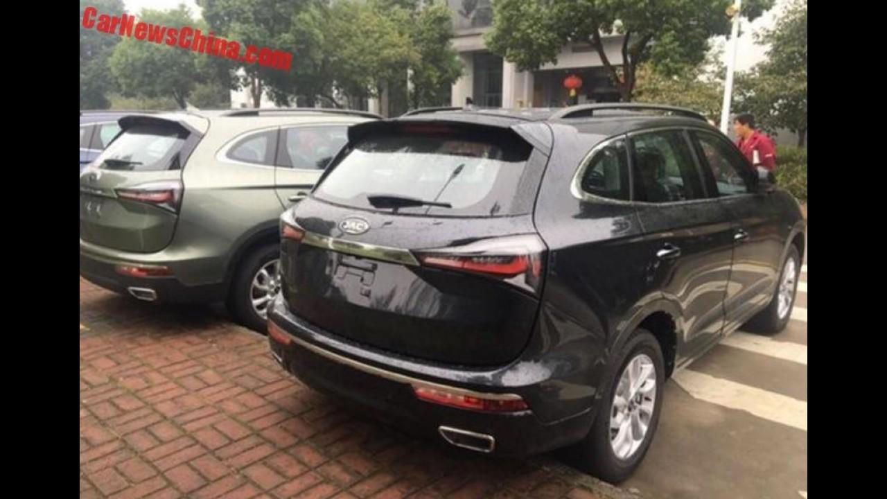 Maior SUV da marca, JAC S7 aparece