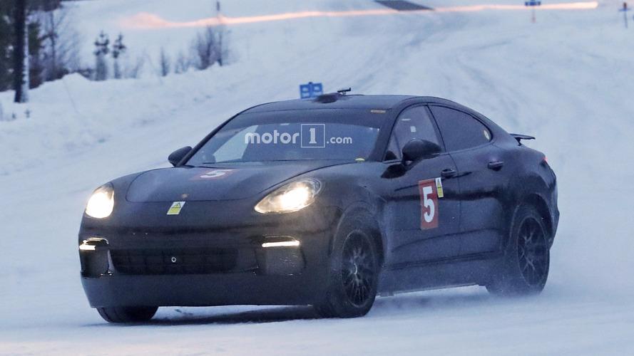 Bu Panamera'nın altında Porsche Mission E olabilir