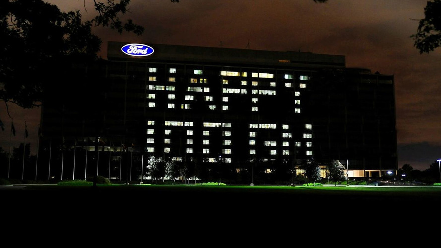 Ford Wishes GM a Happy 100th Anniversary