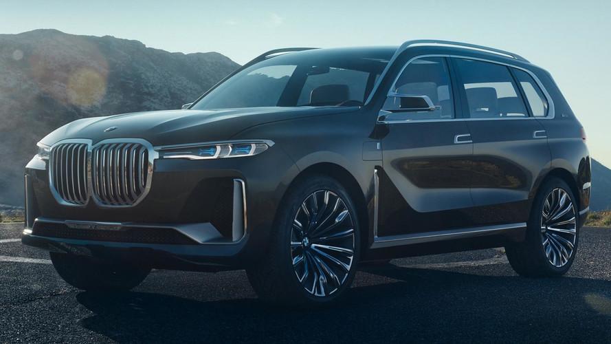 New BMW X7 iPerformance Concept Leaked Ahead Of Frankfurt