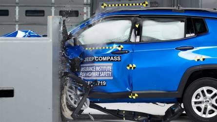 Jeep Compass se destaca em teste de segurança nos EUA