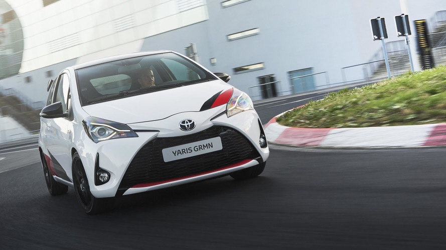 Toyota Yaris GRMN : les photos officielles