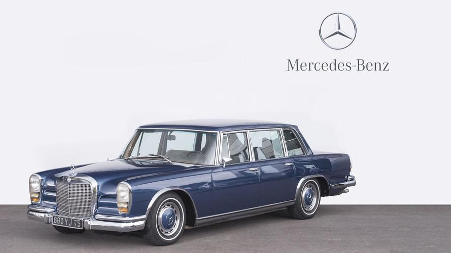1972 Mercedes-Benz 600 limousine