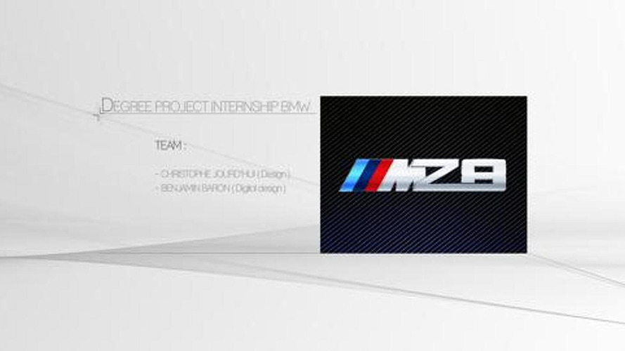 BMW MZ8 rendered