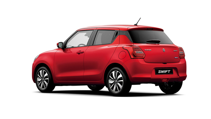 New Suzuki Swift is available as an AWD hybrid hatch