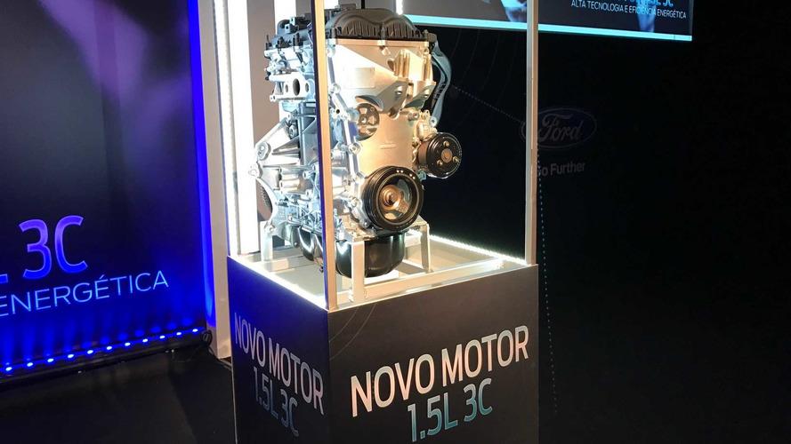 Ford detalha motor 1.5 Dragon flex. Com 3 cilindros e 137 cv!