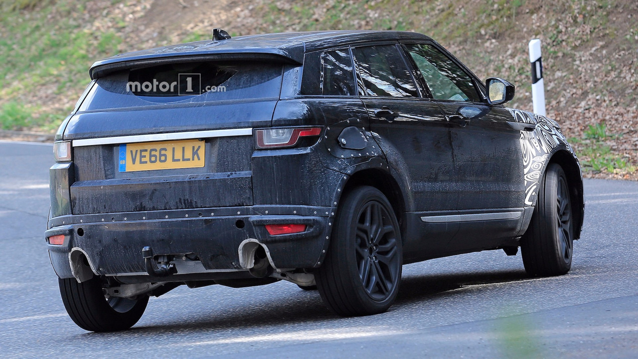 2019 range rover evoque spy shots photo. Black Bedroom Furniture Sets. Home Design Ideas