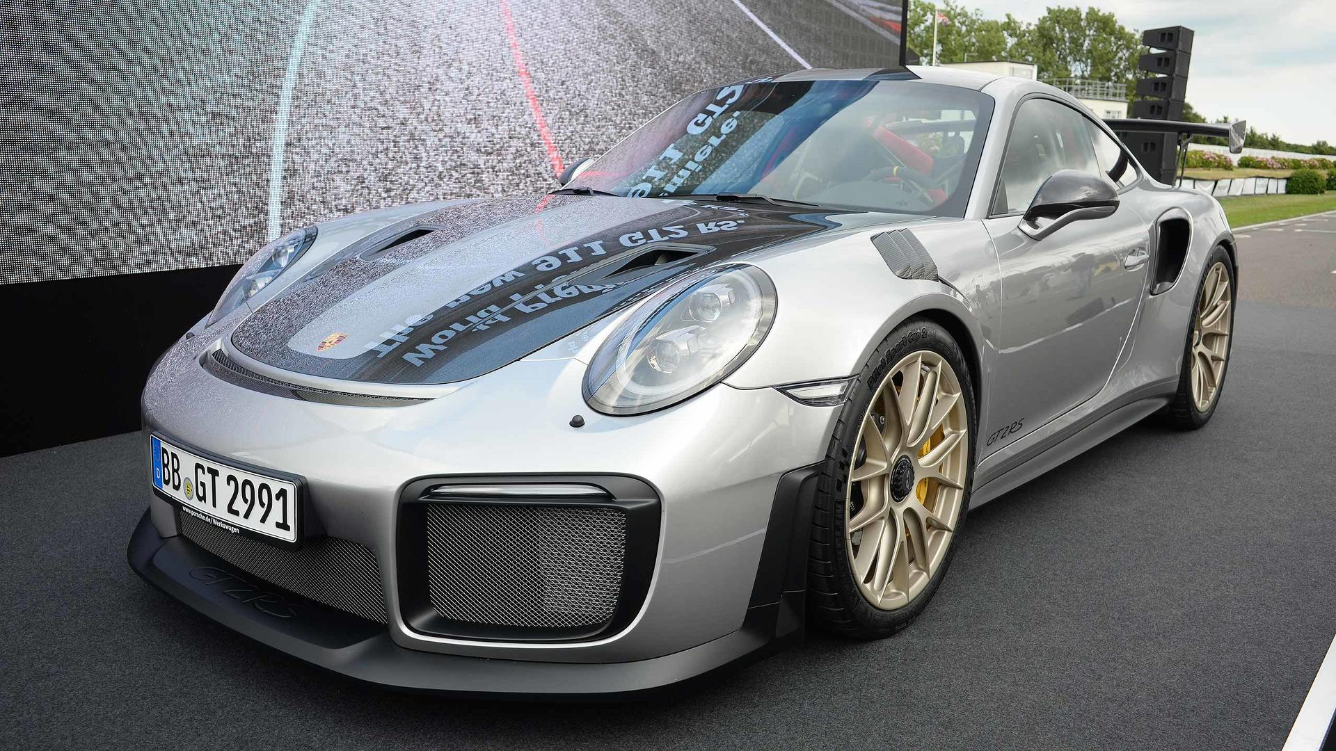 2018-porsche-911-gt2-rs-at-2017-goodwood-festival-of-speed Amazing Porsche 911 Gt2 Rs Engine Cars Trend
