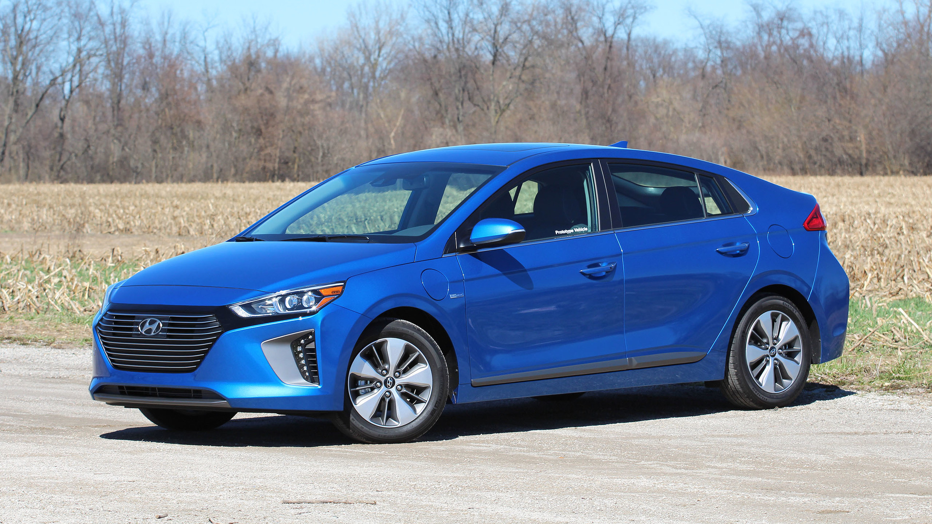 Electric Cars For Sale >> 2018 Hyundai Ioniq Plug-In Prototype Review: Move Over, Prius