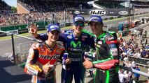 Podio MotoGP Le Mans