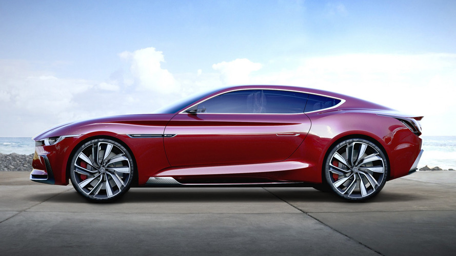 MG E-Motion Concept Looks Familiar, But Still Rather Lovely