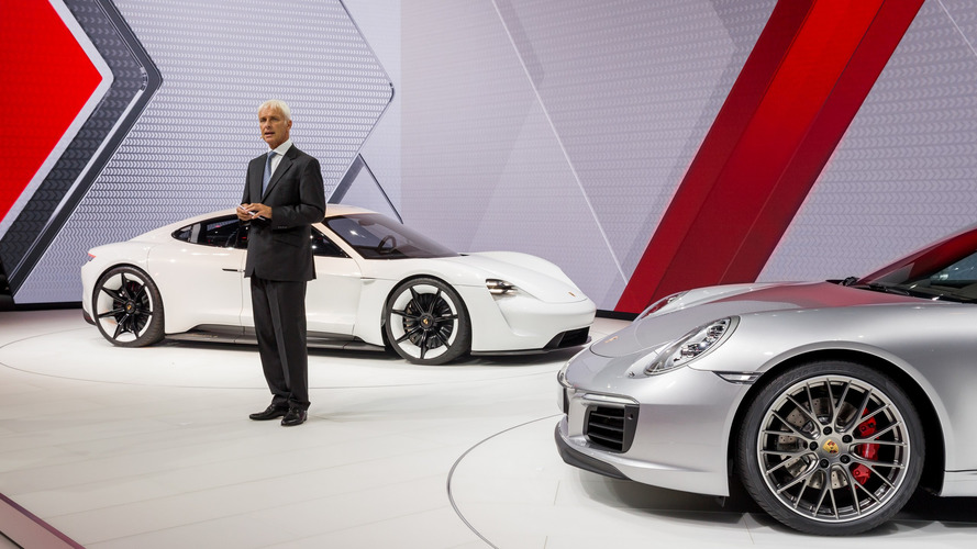Porsche promises to set new standards for electric cars