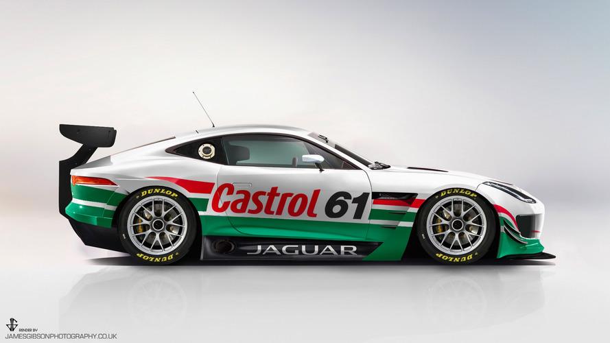 Jaguar F-Type GT3 Rendering