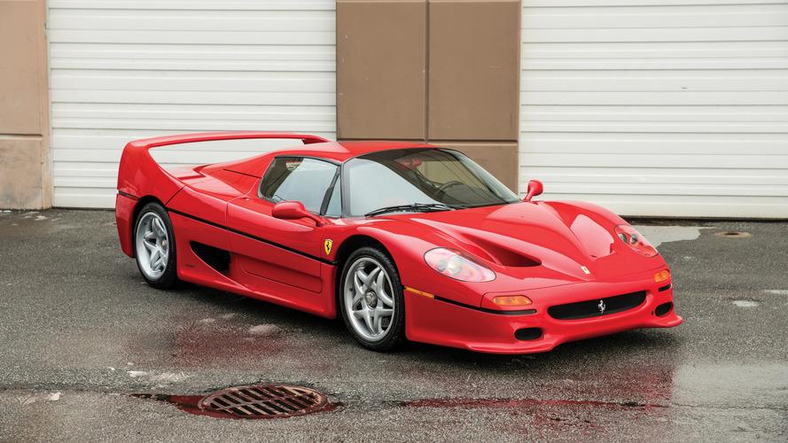En venta el Ferrari F50 de 1995 de Mike Tyson