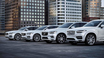 Volvo T8 Twin Engine Hybrid araçlar