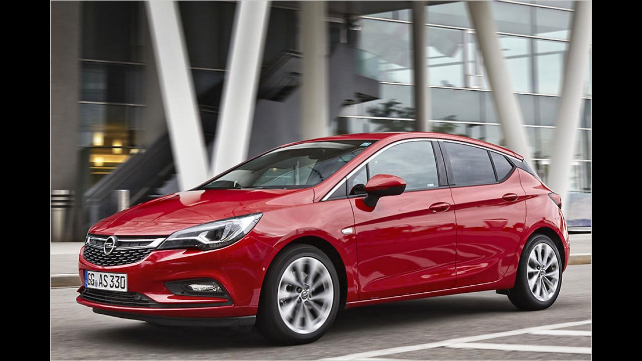 Platz 6: Opel Astra, 5.102 Neuzulassungen