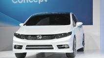 2012 Honda Civic Sedan Concept - 2011 NAIAS