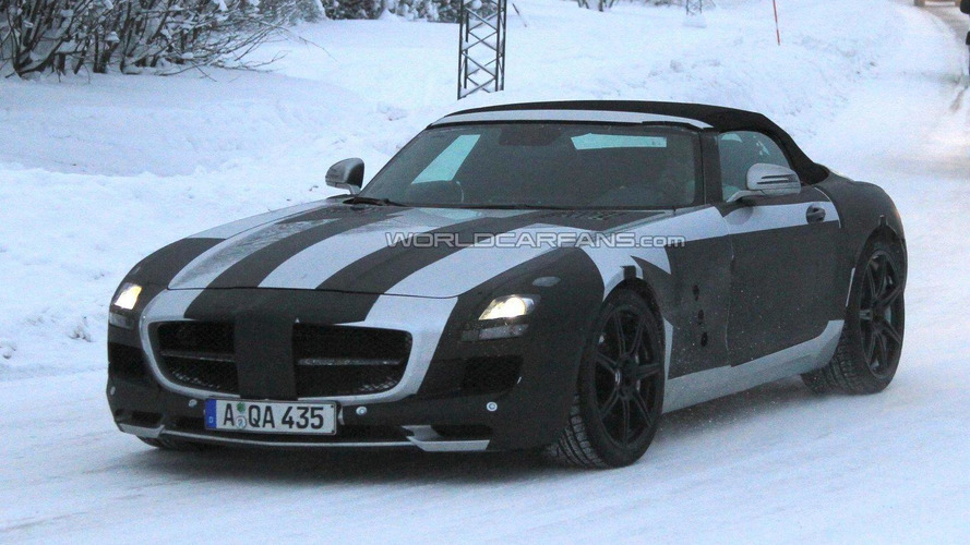First Ferrari FF & Mercedes SLS AMG Roadster up for auction