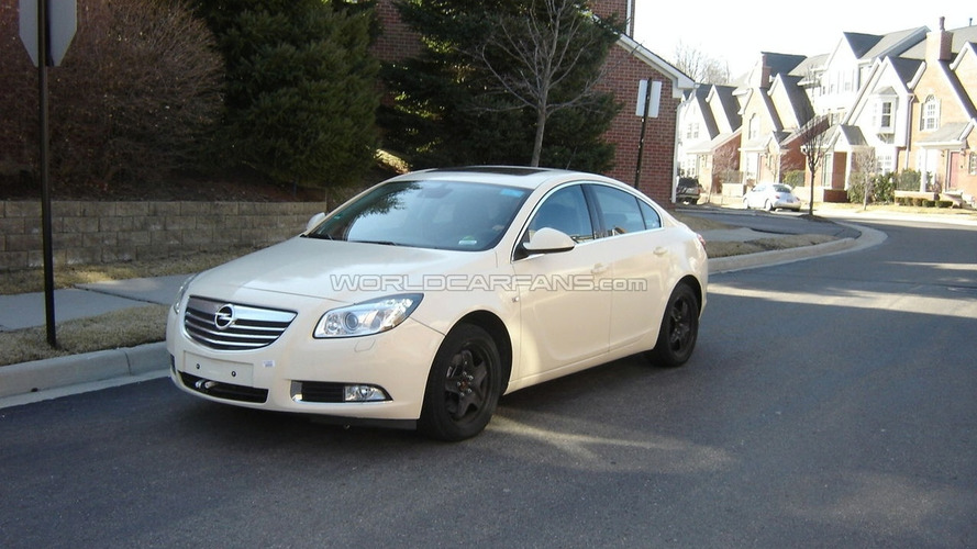 Opel Insignia Spied in Michigan by WCF Reader