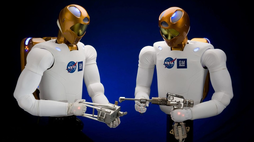 GM - NASA Robonaut headed for International Space Station end of 2010