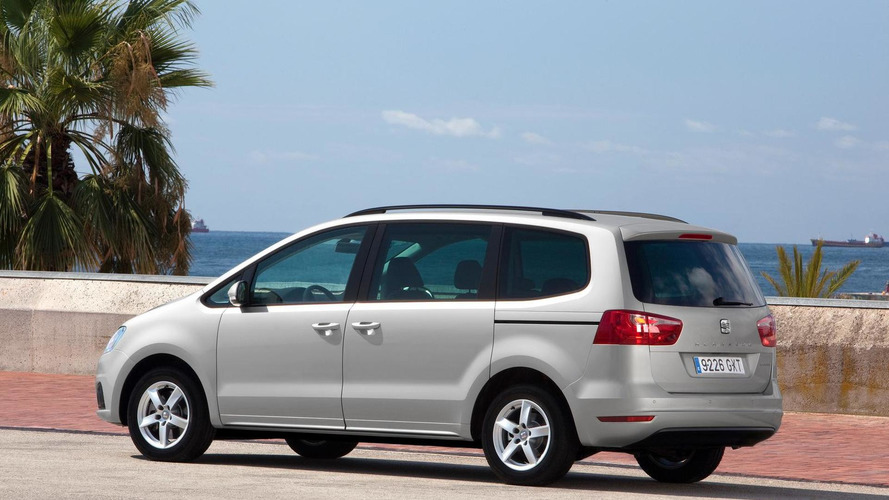 2011 SEAT Alhambra - Additional photos and details released