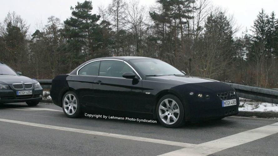 BMW's 3-Series Convertible Spy Photos