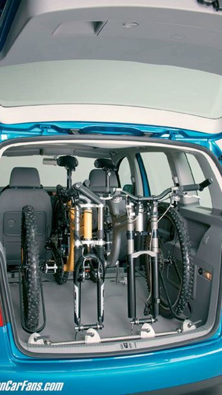 VW Touran Interior Bicycle Carrier