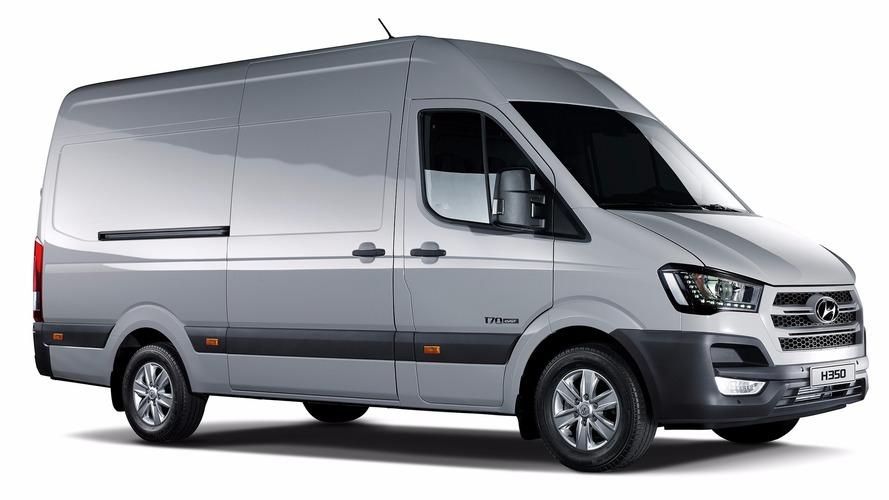 Hyundai H350 Fuel Cell Concept van debuts with 260 mile range
