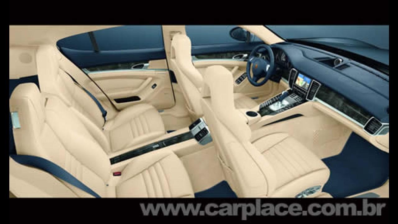 EUA: Novo Porsche Panamera 2010 terá preço inicial de R$ 203 mil - Veja o interior