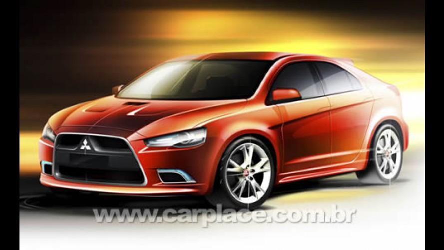 Mitsubishi apresentará o Prototype-S Concept no Salão de Genebra 2008