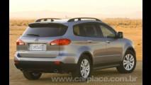 Crossover 4x4 Subaru Tribeca 2008 deve chegar ao Brasil até julho deste ano