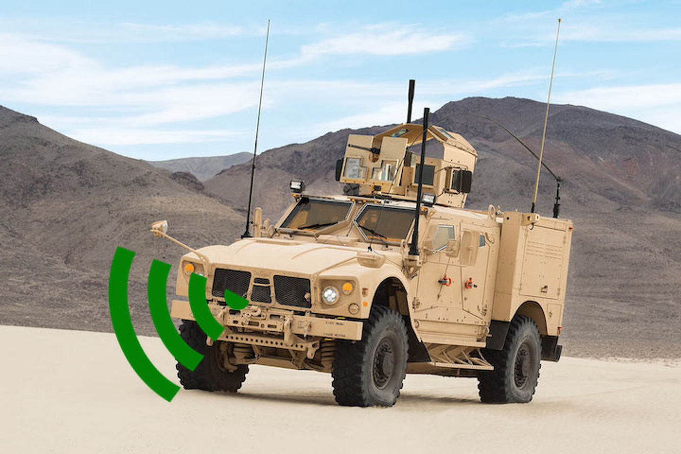 New Oshkosh Military Vehicle Protects Against Gunfire, Front End Collisions