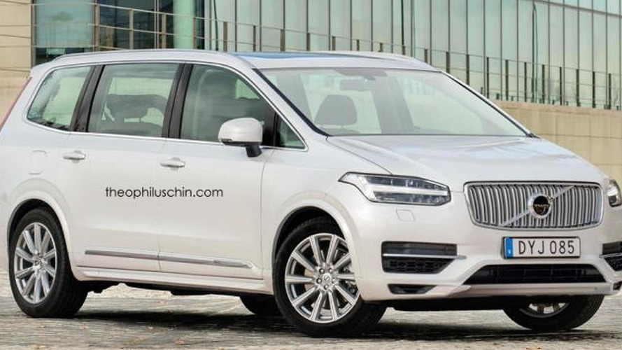 Volvo MPV renders show stylish people carrier