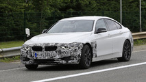 2017 BMW 4 Series Gran Coupe facelift spy photo