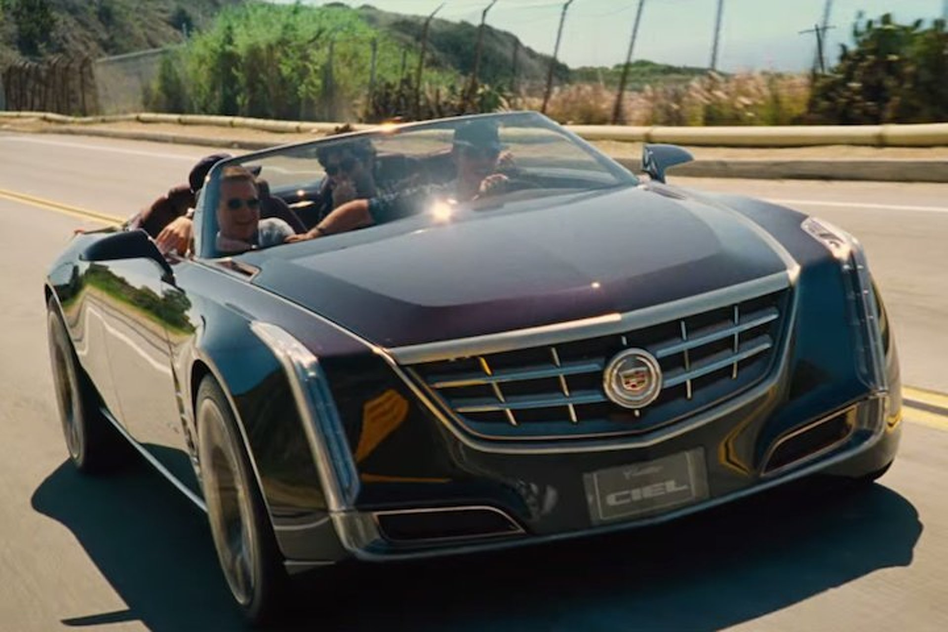 Cadillac Ciel Gets A Starring Role in 'Entourage' Movie